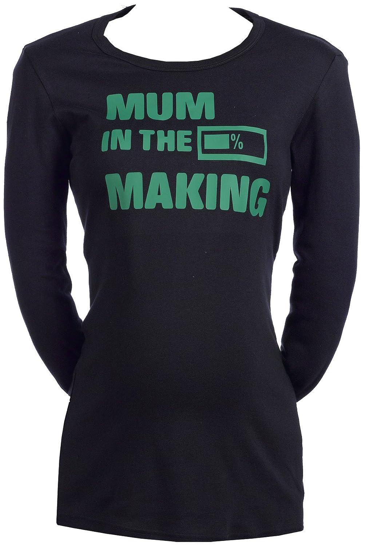 fb237bfbe SR - Mum In The Making - 100% Bio-algodón - camisetas premamá - Embarazo  regalo - ropa premamá - regalo para premamá  Amazon.es  Ropa y accesorios