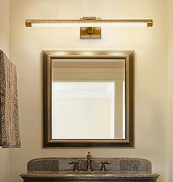 Spiegel vorne Lichter LED Bad retro einfach Nordic Badezimmer ...