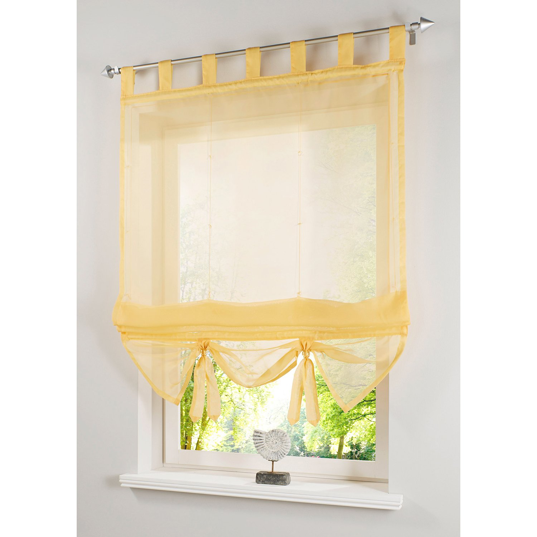ANGEL BUD 1 pezzo tinta unita tenda di tulle Larghezza 60 cm x Altezza 155 cm tende romane per cucina bagno e balcone ombra romana Beige