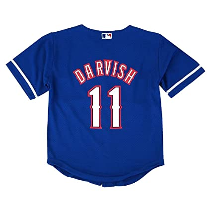 5e04b1834f9 Image Unavailable. Image not available for. Color  Outerstuff Yu Darvish  MLB Majestic Texas Rangers ...