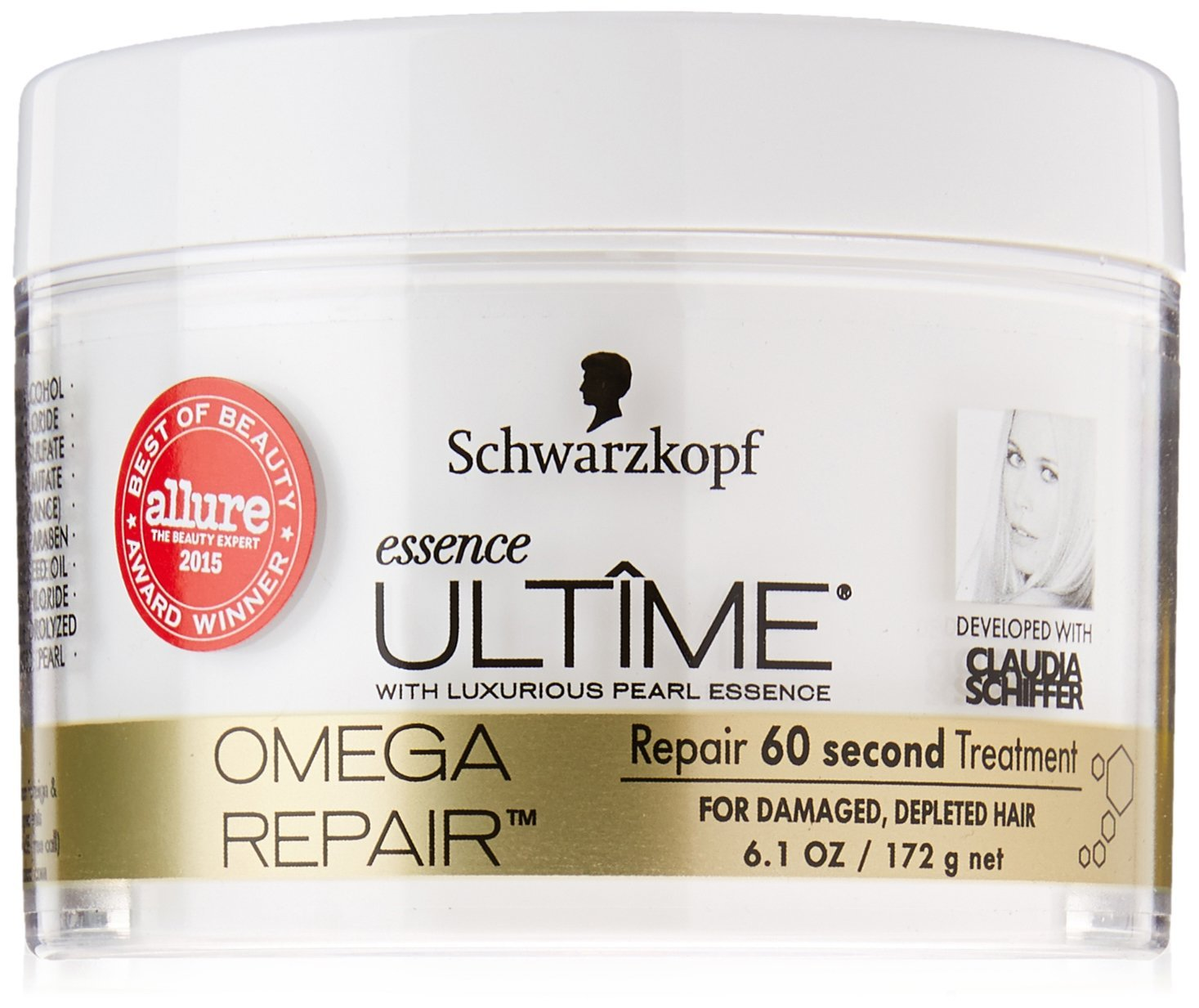 Schwarzkopf Essence Ultime Omega Repair, 60 Second Treatment, 6.1 Ounce