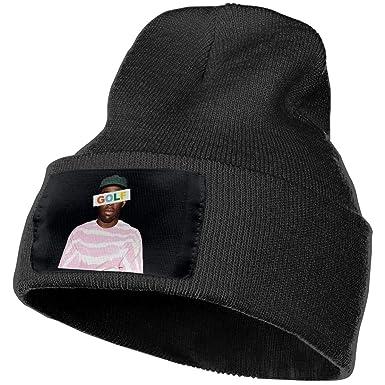 3278ea58f1e4 Golf Wang Tyler The Creator Rap Unisex Winter Beanie Hats Ski Slouchy  Fleece Lined Warm Knit