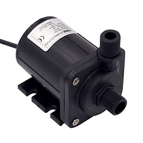 46d969a977b Amazon.com   Aubig DC 12V Brushless Magnetic Drive Centrifugal Submersible  Oil Water Pump 500L H 5M 16ft   Fountain Pumps   Home Improvement