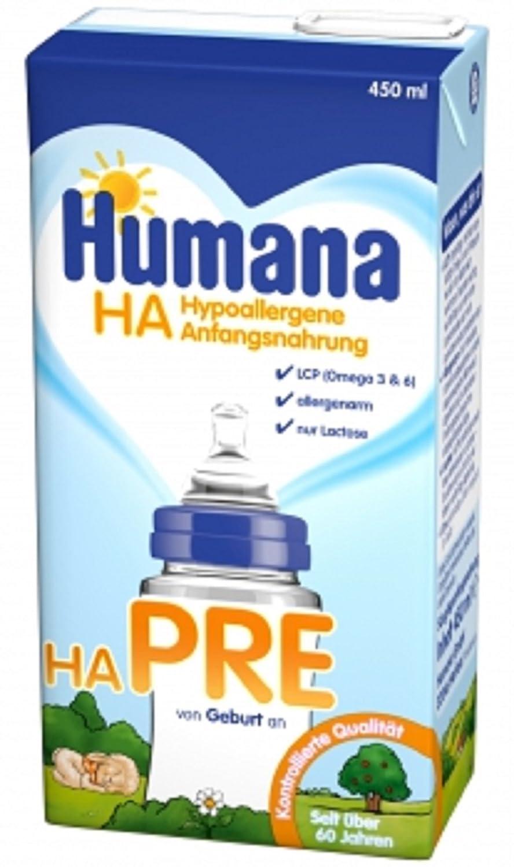 Humana HA Pre 12x450 ml (Hypoallergene) Trinkfertig