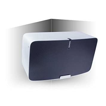 Vebos corner wall mount Play 5 gen 2 white 20 degrees - compatible with  Sonos Play 5 gen 2