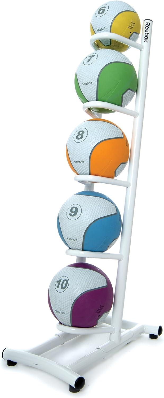 Reebok ESC-21132 - Estante para balones medicinales, color blanco ...