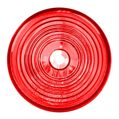 "Grand General 80725 Marker Light (2"" Red with Grommet and Pigtail), 1 Pack: Automotive"