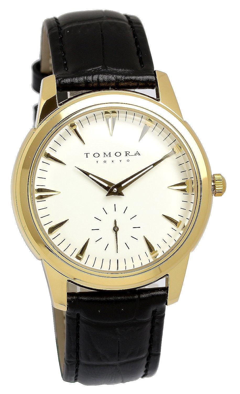 [トモラ]TOMORA 日本製 腕時計 ウォッチ クラシック レトロ シンプル ビジネス メンズ B01LPQU0SO
