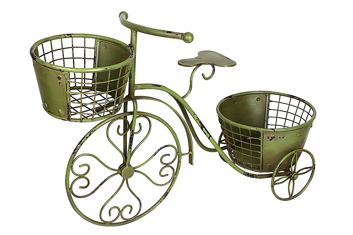 Metal Nostalgia Yard Bike Planter
