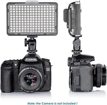 49 LED Video Light Lamp Photography Studio Dimmable for DSLR Camera DV Camc.kn