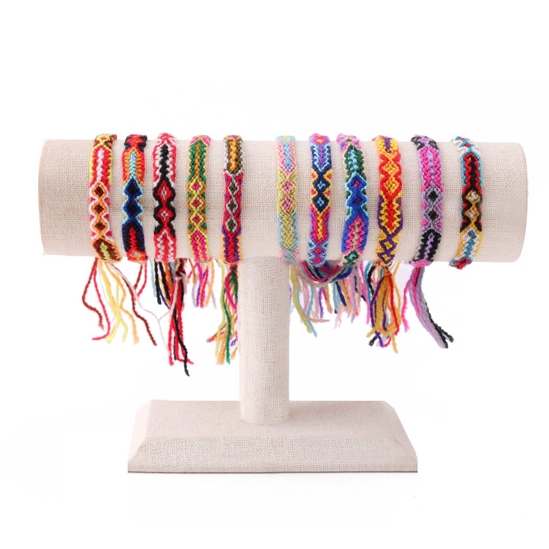 KELITCH Bohemia Tassels Friendship Bracelet Handmade Beaded Charm Bangles New Jewelry 10 PCS AZ1W-150500K