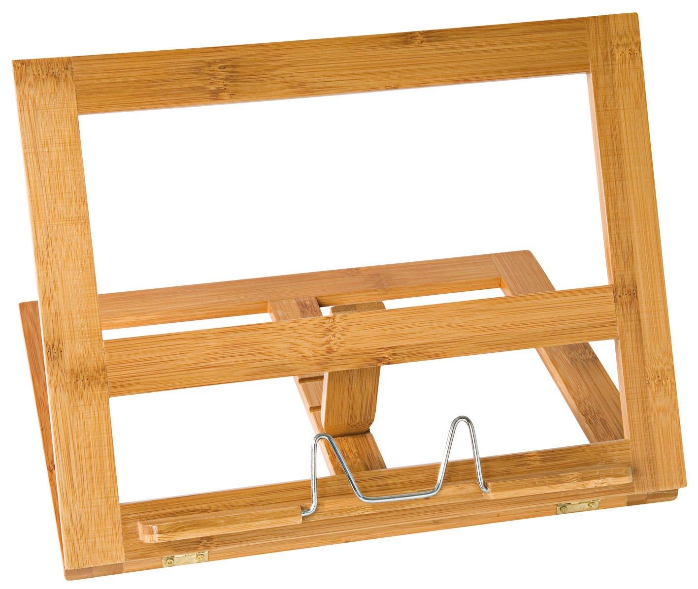 Wedo 2113107 Buchständer Holz Bambus große (ausführung) braun