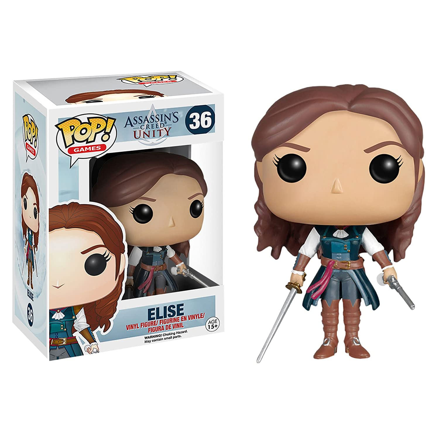 Funko Assassin's Creed Unity POP  Games Elise Vinyl Figure  36 by USA