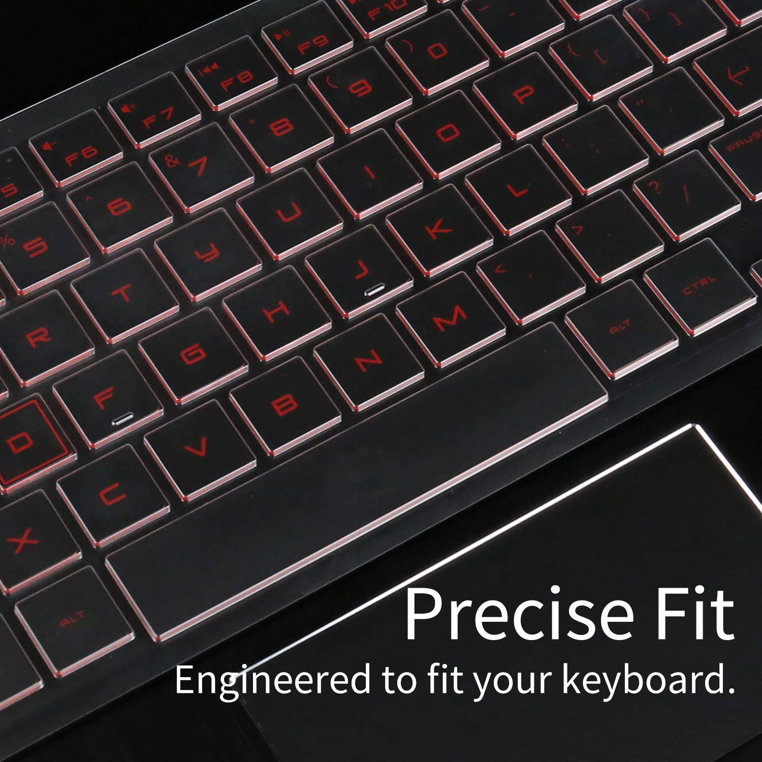 Clear Keyboard Cover Protective Skin for Dell KM636 Wireless Keyboard /& Dell KB216 Wired Keyboard Cover Protector