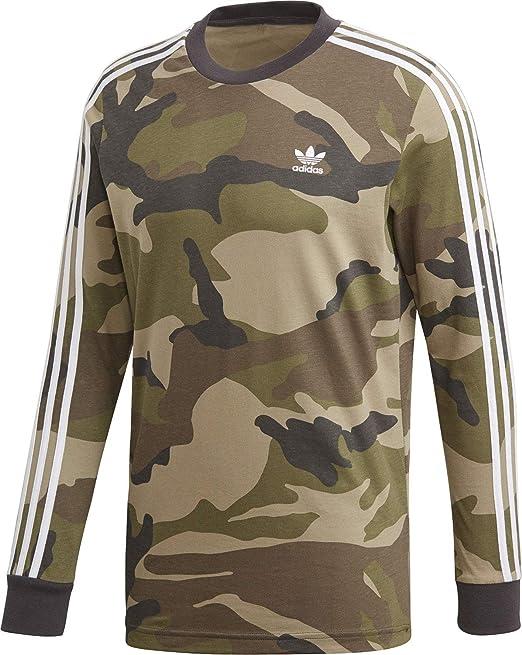 adidas Camo LS Tee, Maglietta Uomo: Amazon.it: Abbigliamento