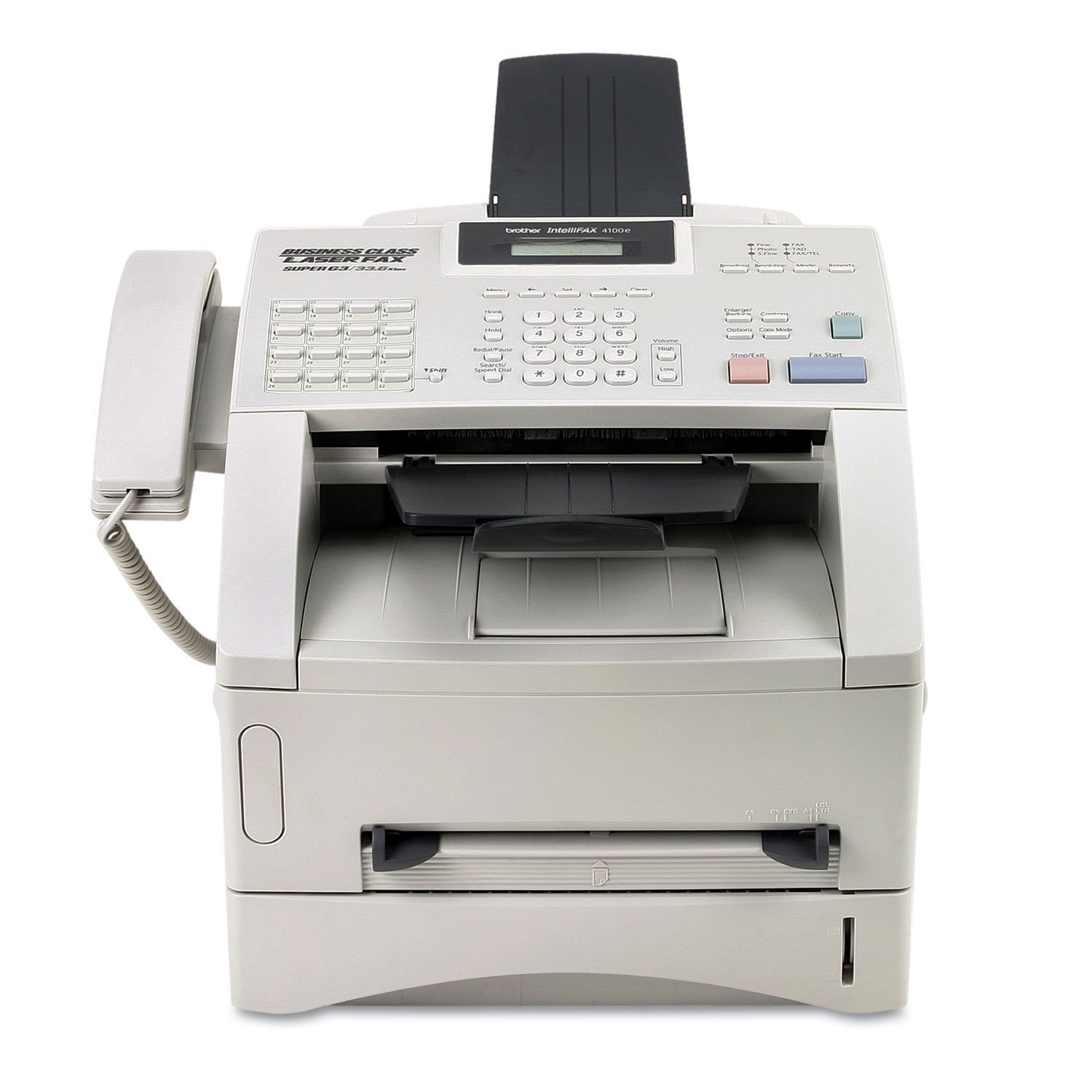 Amazon.com : Brother IntelliFax 4100E Business-Class Laser Fax ...