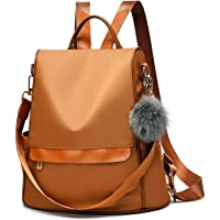 Redlicchi Girls Fashion Backpack Cute Mini Leather Backpack Purse for Women