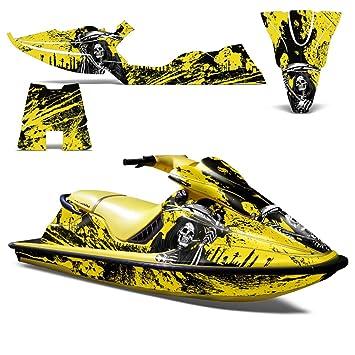 1996 Seadoo Xp >> Seadoo Xp 1994 1996 Decal Graphic Kit Jet Ski Wrap Jetski Decal Sea Doo Decoreaper Yellow
