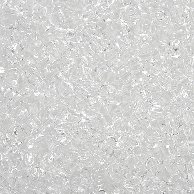 2.5 mm Durchmesser KnorrPrandell 3105806 Rocailles kristall
