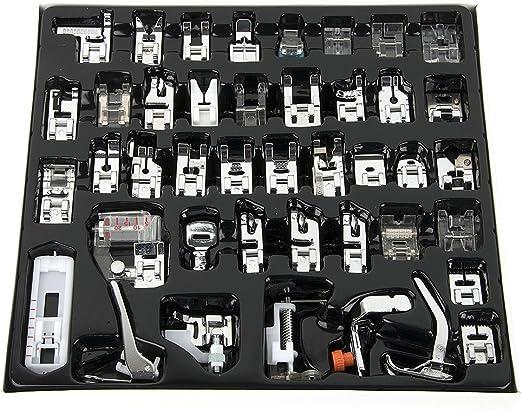 Juego de pies prensatelas de 42 piezas para máquina de coser ...