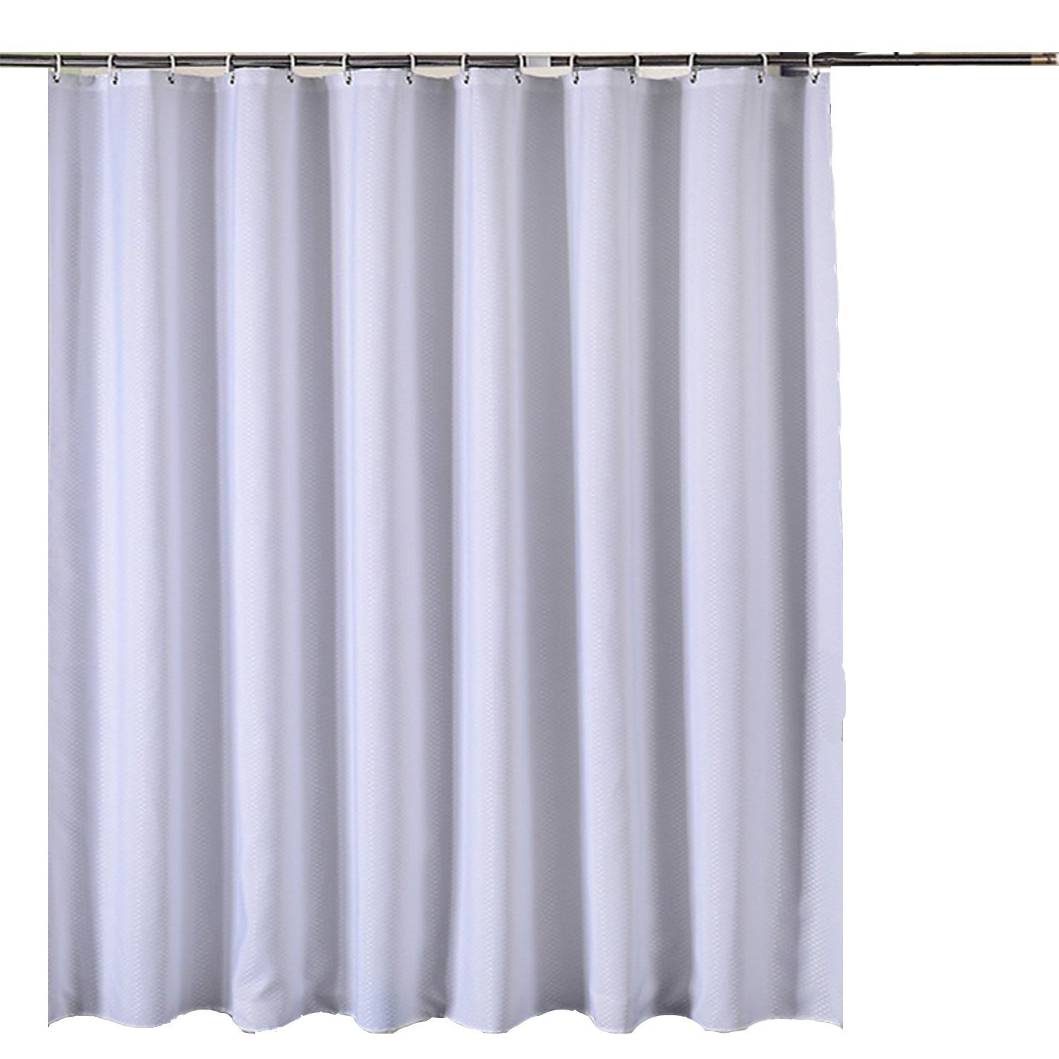 Amazon.com: CHESEY Waffle Weave Cotton Shower Curtain Liner Water ...