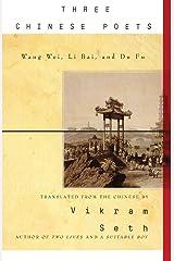 Three Chinese Poets Paperback