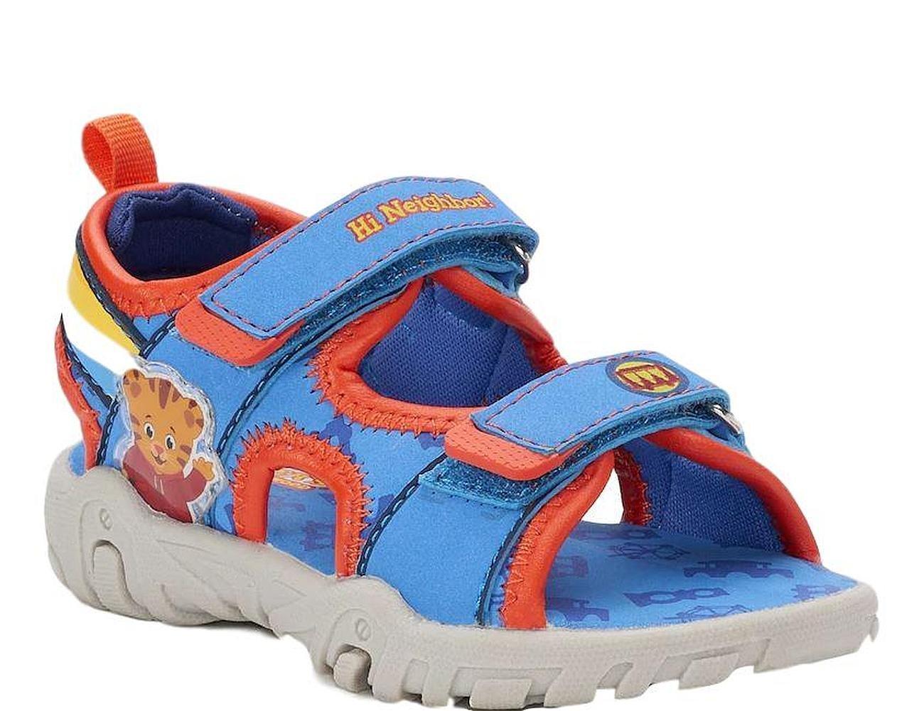 Daniel Tiger Neighborhood Sandal Flip Flop for Toddler Boys Summer Shoe (5 Medium)