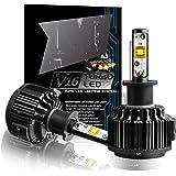 TECHMAX H1 LED Lampadine Kit, di conversione 7200LM 60W 6000K luce bianca delle CREE - 3 anni di garanzia