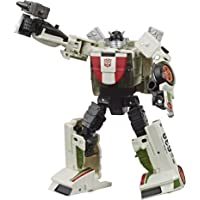 Transformers Toys Generations War for Cybertron: Earthrise Deluxe WFC-E6 Wheeljack Action Figure - Kids Ages 8 and Up, 5.5-inch