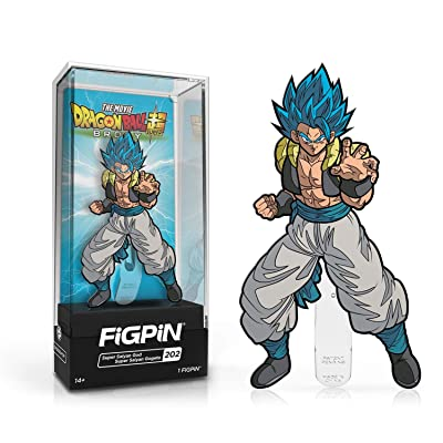 FiGPiN Classic: Dragon Ball Super: Broly - Super Saiyan God Super Saiyan Gogeta #202: Toys & Games