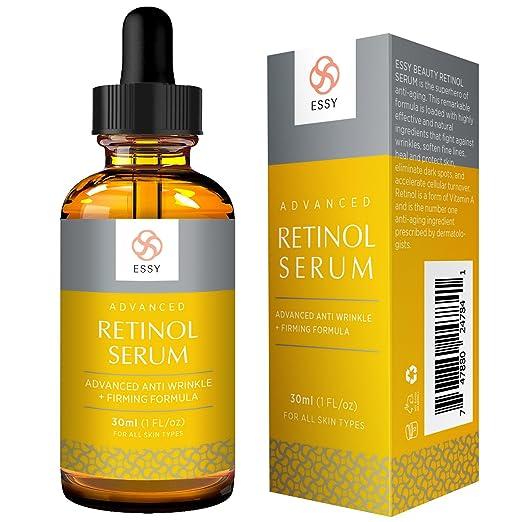 Essy Retinol Serum with Advanced Anti Aging, Anti Wrinkle and Firming Formula (30 ml) Strivectin Clinical Corrector Anti-Aging Eye Illuminator, Medium, 0.25 oz