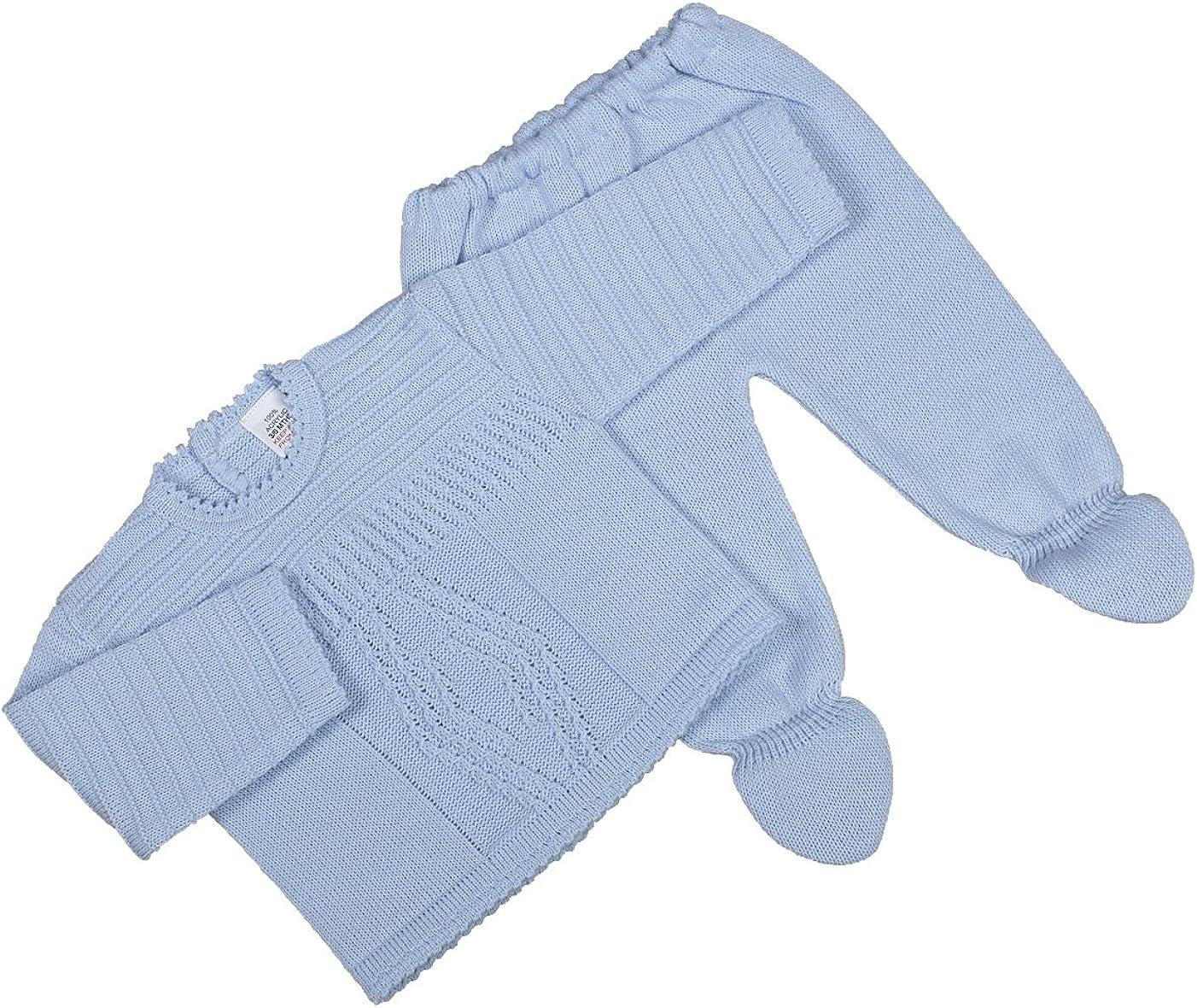 Dandelion Baby Boys 0-24m A1513B Acrylic Long Sleeve Clothing Set