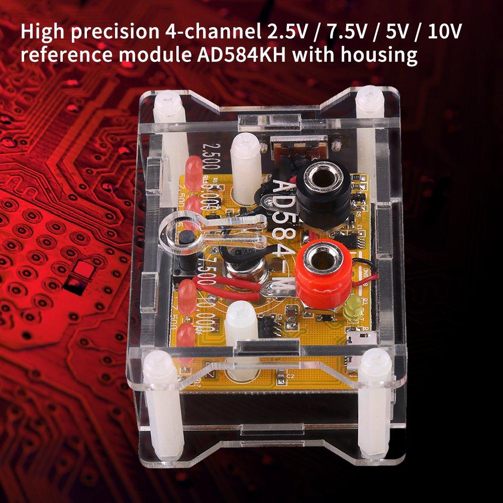 AD584KH M/ódulo de referencia de voltaje de alta precisi/ón de 4 canales 2,5 V//7,5 V//5 V//10 V con funda