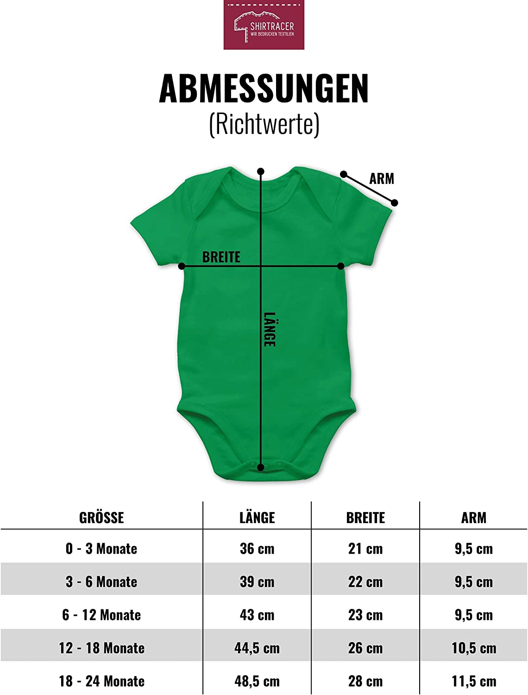 Papa du schaffst das Fu/ßball M/ädchen Strampler Motive Baby Body Kurzarm f/ür Jungen und M/ädchen Shirtracer