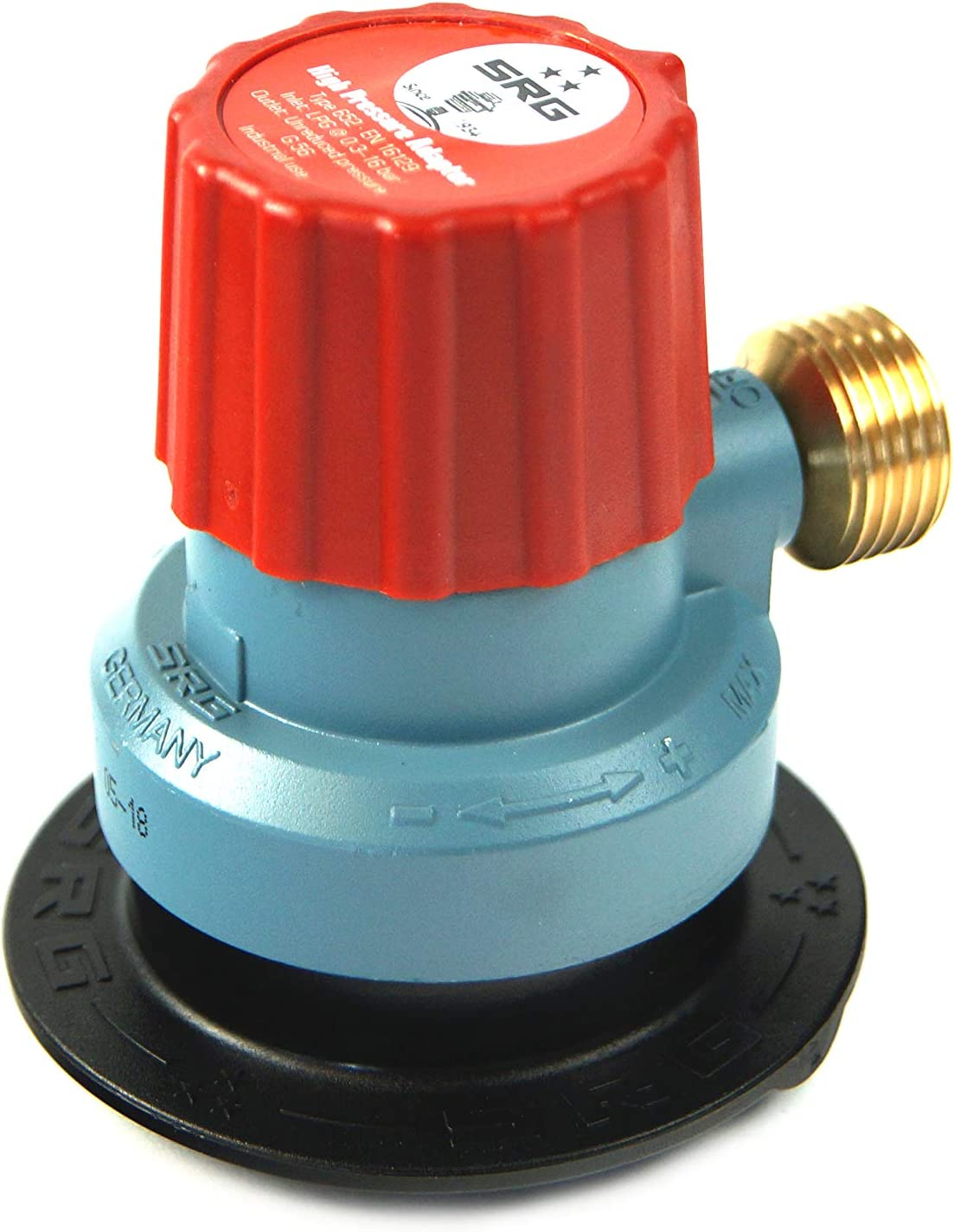 Drehmeister Adaptador SRG Clip On Jumbo 35mm x KLF - para Botellas de Gas