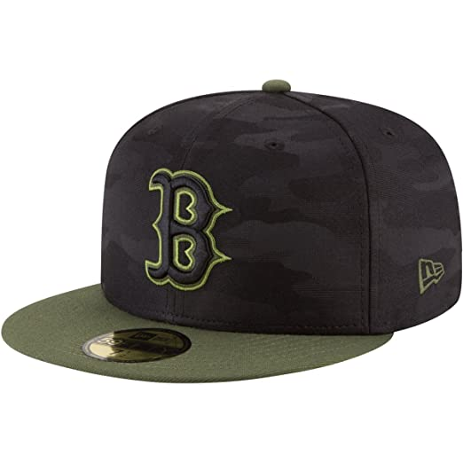 879a51fb50c New Era Boston Red Sox Memorial Day Fitted Cap 59fifty Basecap Limited  Special Edition