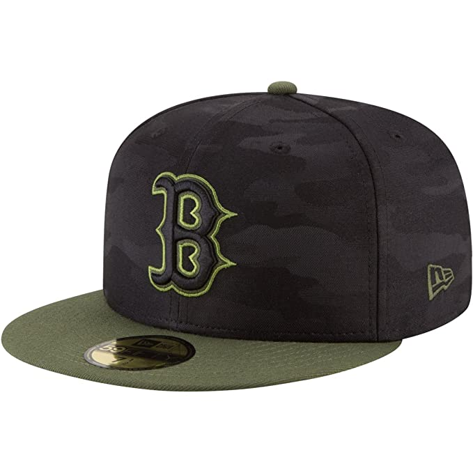 New Era Boston Red Sox Memorial Day Fitted Cap 59fifty Basecap ...