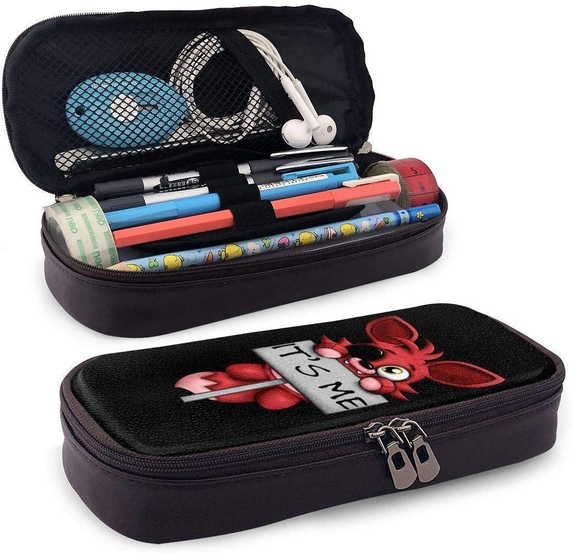 Foxy It s Me Estuche para lápices Bolso para bolígrafo Bolso para maquillaje Bolsa para escuela de oficina universitaria: Amazon.es: Oficina y papelería