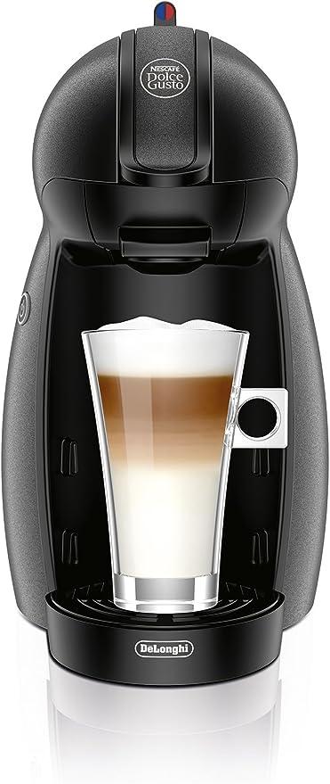DeLonghi EDG201.G - Cafetera Dolce Gusto Piccolo Silver, 1500W ...