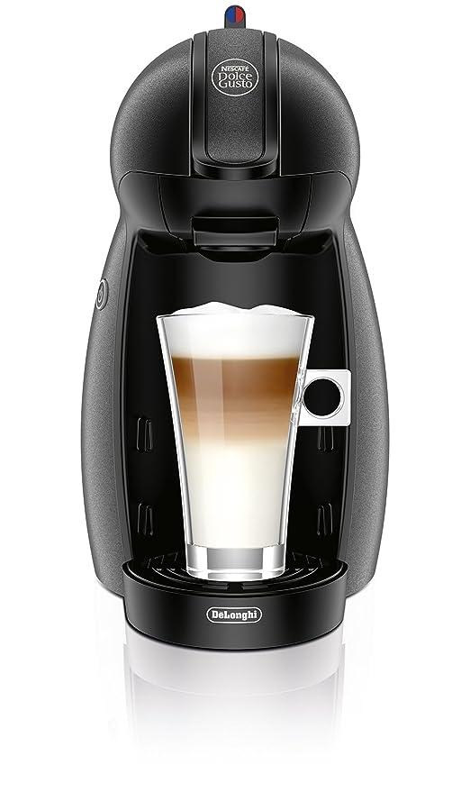 DeLonghi EDG201.G - Cafetera Dolce Gusto Piccolo Silver, 1500W, 15Bares, Automatica, Sist.Termoblock, 0.6L, Bandeja Recoge Gotas.