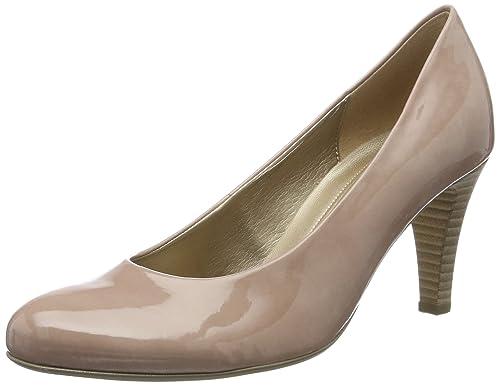 Gabor Shoes Gabor Fashion, Zapatos de Tacón para Mujer, Beige (Sand), 38 EU