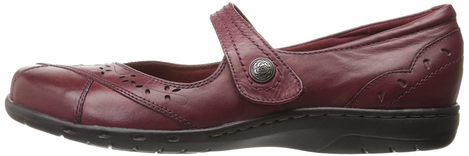 Cobb Hill B01EWG5ILS Women's Petra-Ch Mary Jane Flat B01EWG5ILS Hill 9.5 W US|Bordeaux c0036c