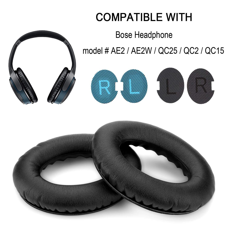 Almohadillas Para Bose Quietcomfort Qc15,qc25,ae2,ae2i,ae2w