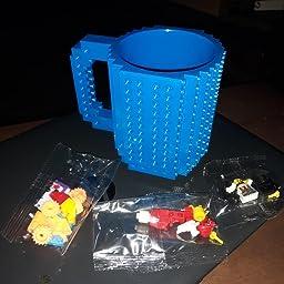 Lego mini figure 1 Light Pink coffee mugs cups drink kitchen