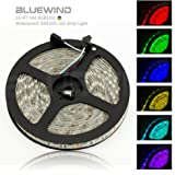 Blue Wind 16.4FT 5M SMD 5050 Waterproof 300LEDs RGB Color Changing Flexible LED Strip Light