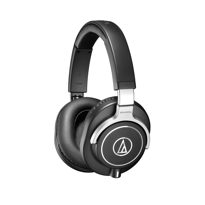 Audio-Technica ATH-M70x Professional Monitor Headphones (Certified Refurbished)