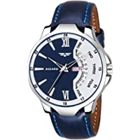 ASGARD Day n Date Feature Blue Dial Watch for Men, Boys