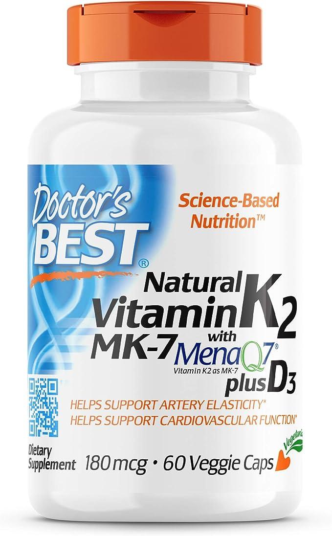 Menaquinon-7 No Kapseln 200mcg 250 Tabletten VITAMIN K2 á 200µg MK-7 Vegan