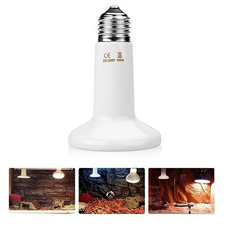 pecute cerámica CALOR lámpara Estufa Reptile Bree Ding lámpara incluida Calefacción brooder 220 V (50