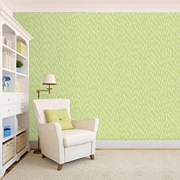 100yellow Green Peel Stick Self Adhesive Wallpaper For